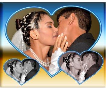 É com muita alegria que nós dois, Fernando e Cristina, estamos aqui para mostrar a todos que é real e verdadeiro o NOSSO AMOR.