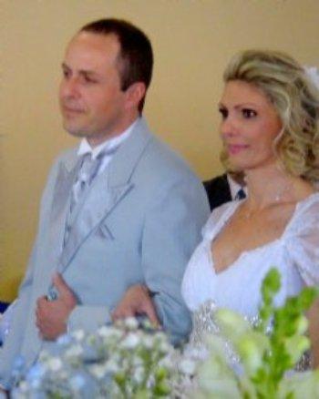 Agradecemos a Deus e a Equipe Amor em Cristo por nos ter unido em matrimônio!
