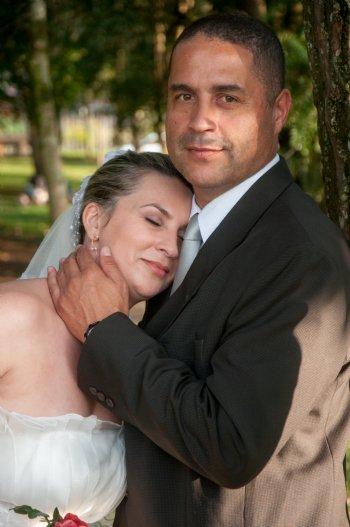 Estamos hoje casados, morando em Canoas, e muito felizes.