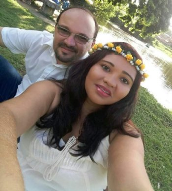Eu morava em Fortaleza, e ele em João Pessoa, e nosso encontro só se tornou possível graças ao site.